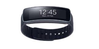 Stylové sportovní hodinky Samsung Gear Fit